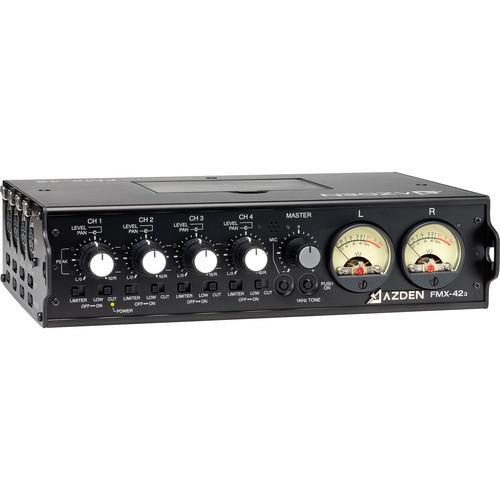 Azden FMX-42a 4-Channel Microphone Field Mixer