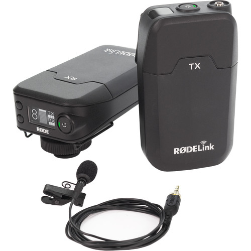 Rode RODELink Filmmaker Kit Digital Camera-Mount Wireless Omni Lavalier Microphone System (2.4 GHz)