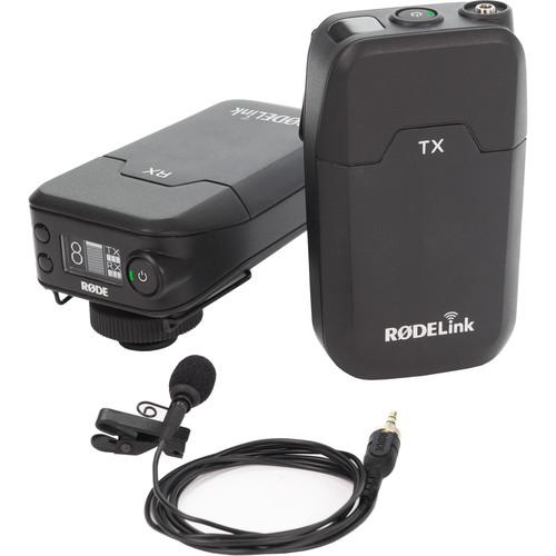 Rode RODELink Filmmaker Kit Digital Camera-Mount Wireless Omni Lavalier Microphone System (2.4 GHz)