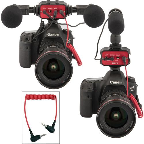 Kopul CMX-1-V2 Two-Channel Mini Mixer with Shoe Bracket